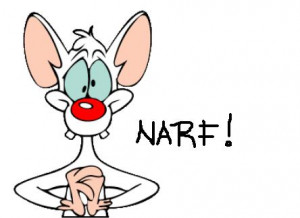 PINKY from Pinky and the Brain