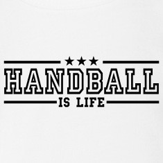handball is life deluxe Bodys Bébés