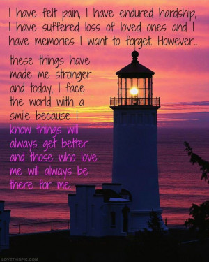 ... sunset ocean happy positive positive quote light house beautiful quote