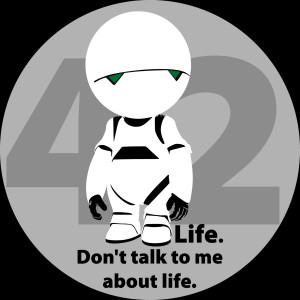 Hitchhikers Guide To The Galaxy 42 Marvin (the hitchhiker's guide