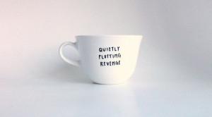 Quietly Plotting Revenge Hand Illustrated Quote Art Mug 6 oz ...