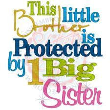 Sisters Gift Big Sister Little Sister Little Brother Unique Baby Girl ...