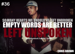 Chris Brown Famous Quotes