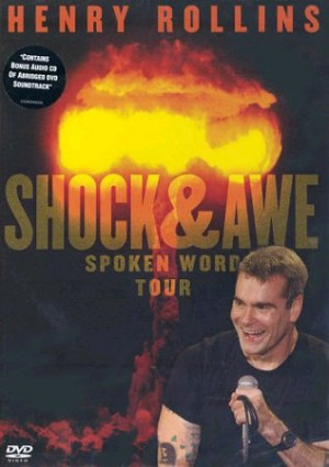 Henry Rollins, Shock & Awe - Spoken Word Tour, UK, DVD, Cooking Vinyl ...