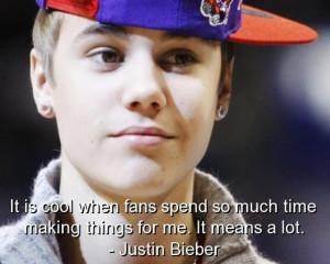 Justin bieber famous quotes sayings best fans positive