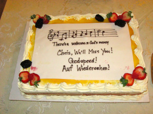 Fare Well Quotes For Cake. QuotesGram