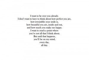 want to get over you #love #life #happiness #relationships # ...