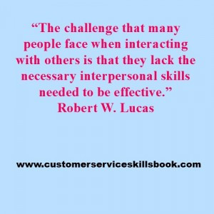 interpersonal communication skills quote robert w lucas