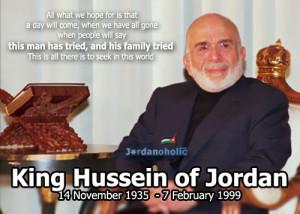 King Hussein of Jordan Quotes | اقوال الملك حسين بن ...