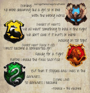 Hogwarts Houses Inspiration