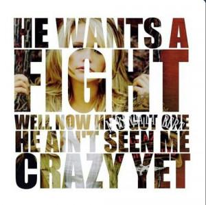 Miranda Lambert. Song lyrics quote