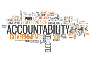 Be accountable if you want to count