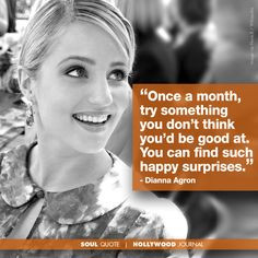 Quotes, Quotes Inspiration, Celebrity Quotes, Diannaagron, Glee Quotes ...
