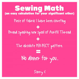 Labels: Friday funny , funny sewing memes , pinterest , sewing memes