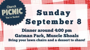 Church Picnic Flyer Templates Free