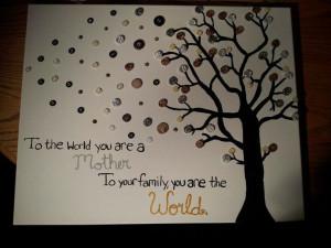 DIY #canvas! Canvas Ideas, Quotes Trees, Canvas Art, Diy Canvas ...