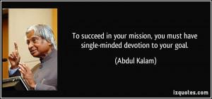 More Abdul Kalam Quotes