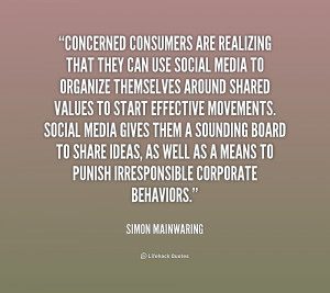 Concerned consumers are realizing that they can use social media to ...
