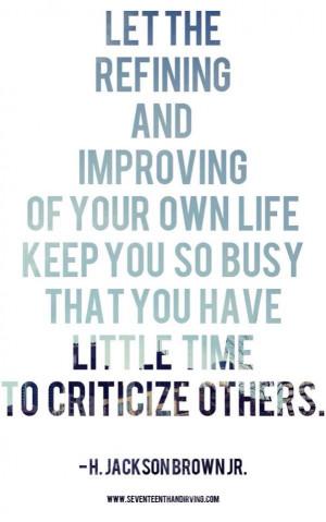 Improve yourself quote
