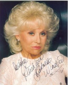 Barbara Windsor. More