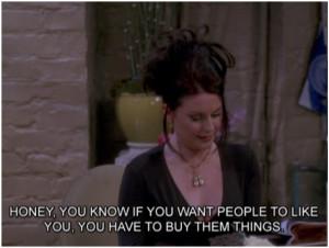Karen Walker on Friendship: