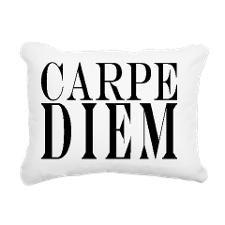 Famous Latin Quote : Car Rectangular Canvas Pillow for
