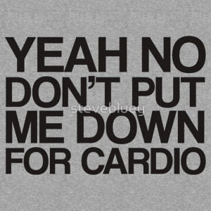 Fat Amy – Cardio Quote T-Shirt t-shirt
