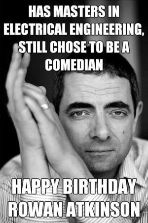 Happy Belated Birthday Mr. Bean