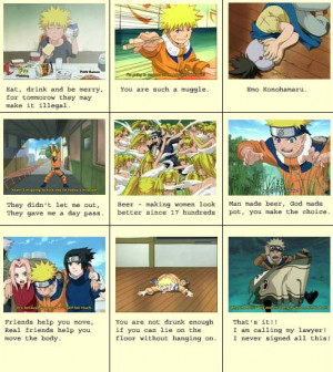 Naruto Quotes by hakuhyo