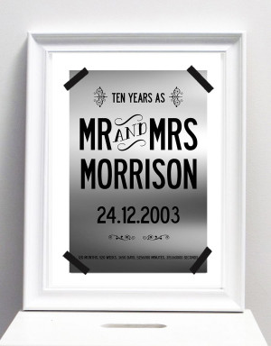 personalised-10-year-wedding-anniversary-print-with-your-name-and-date ...