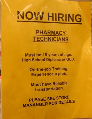 Funny Pharmacy Signs