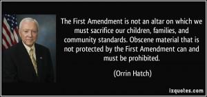 First Amendment Quotes