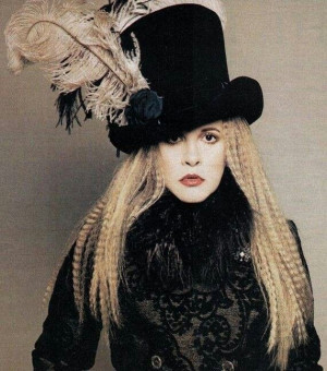 Stevie Nicks - will forever bring me back to my childhood, remind me ...