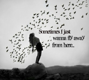 wanting to get away # quotes # picture with quote 11 notes