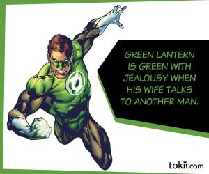 Green Lantern Saying