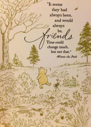 Best Friends, Pooh Quotes, Pooh Bears, Friends Forever, Friends Quote ...