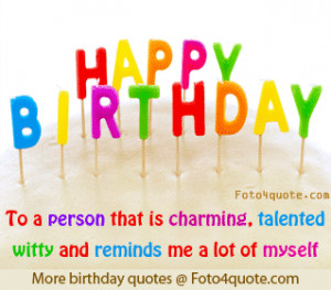 Free birthday ecards and photos - Happy birthday to a person that is ...