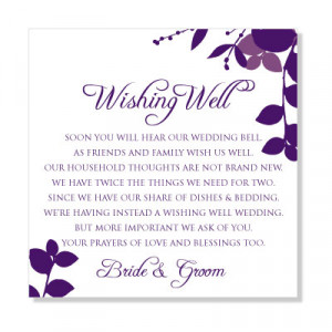 ... Sayings on Wedding Shower Quotes For A Card Wedding Thank You Card