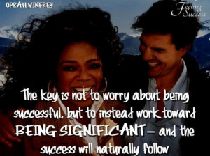Oprah winfrey quotes and about success sayings