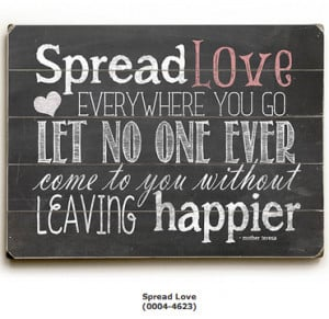 Spread Love Everywhere… Inspirational Art & Quotes for Kids