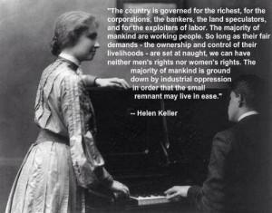 Helen Keller--Radcliffe graduate, social reformer and political ...