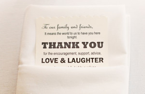 To Our Family And Friends thank you quotes