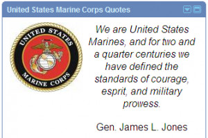 Quotes made by different people through out history about the USMC