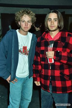 Jared Leto and Devon Gummersall are Jordan Catalano and Brian Krakow ...