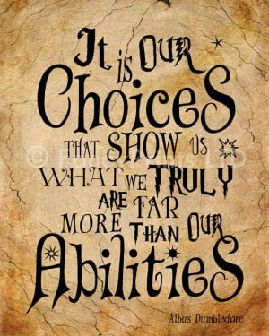 Dumbledore Quotes by FancyPrintsforHome: Hp Quotes, Dumbledore Quotes ...