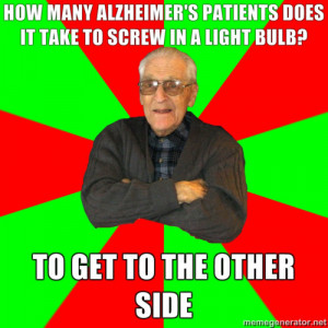 How many Alzheimer's patients does it take…