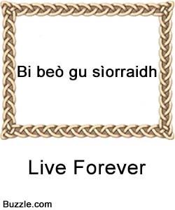 Irish Gaelic Tattoo Quotes