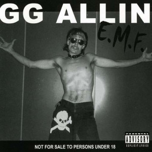 GG Allin Grave
