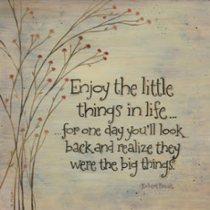 Quote of the Day: Enjoy Life