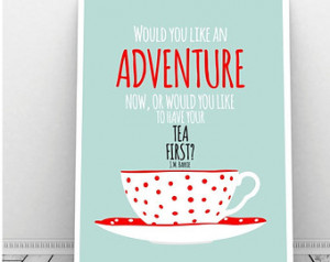 Life Like Cup Tea Quote Tag